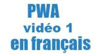 Les Progressive Web Apps (PWA) : initialisation du projet