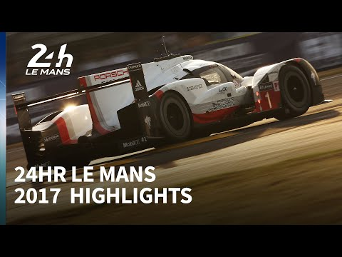2017 Le Mans 24 Hours highlights