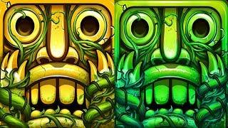 Temple Run 2 Sky Summit VS Lost Jungle Android iPad iOS Gameplay HD
