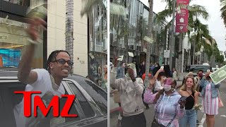 Rich The Kid Makes it Rain on Rodeo Drive,  He Gets a Ticket | TMZ