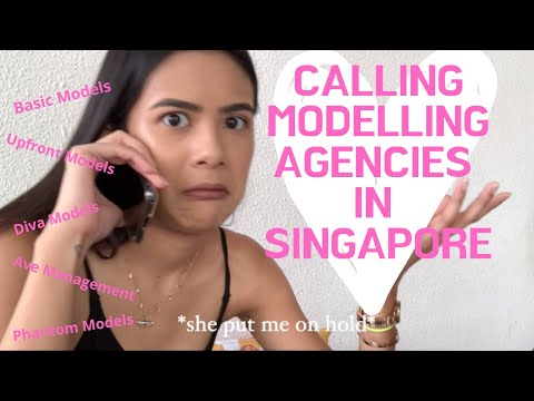 Calling 8 Modelling Agencies in Singapore
