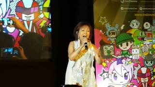 Voltes V No Uta - Mitsuko Horie At Indonesia Comic Con 2016