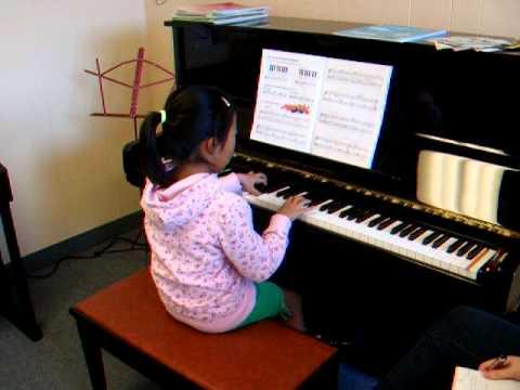Amanda Wang - Piano student at Ontario Conservatory of Music in Cambridge