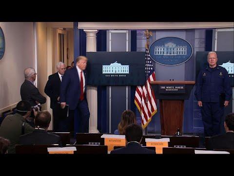 Trump's near-daily virus briefings under scrutiny (Video)