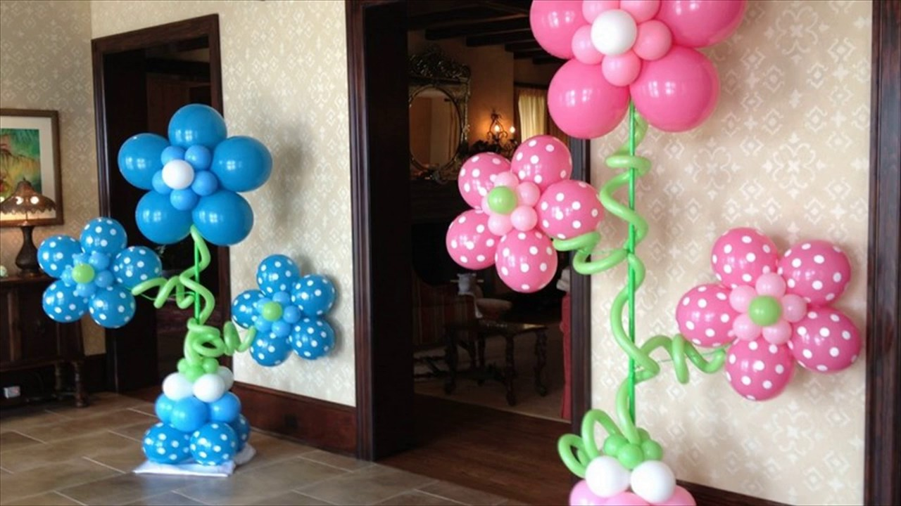Balloon Decoration Images - YouTube