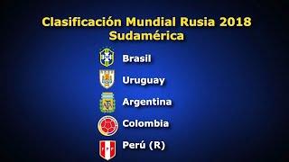 Estos son los clasificados a Rusia 2018 de la Conmebol y la Concacaf