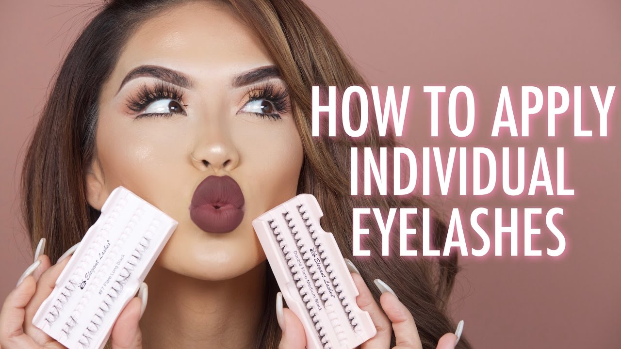 Download HOW TO APPLY INDIVIDUAL LASHES | iluvsarahii