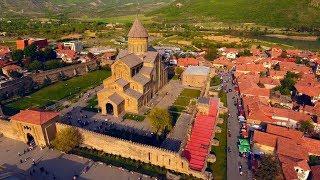 Грузия:   Мцхета,  монастырь Джвари -  4 K (Georgia: Mtskheta, the monastery of Jvari)