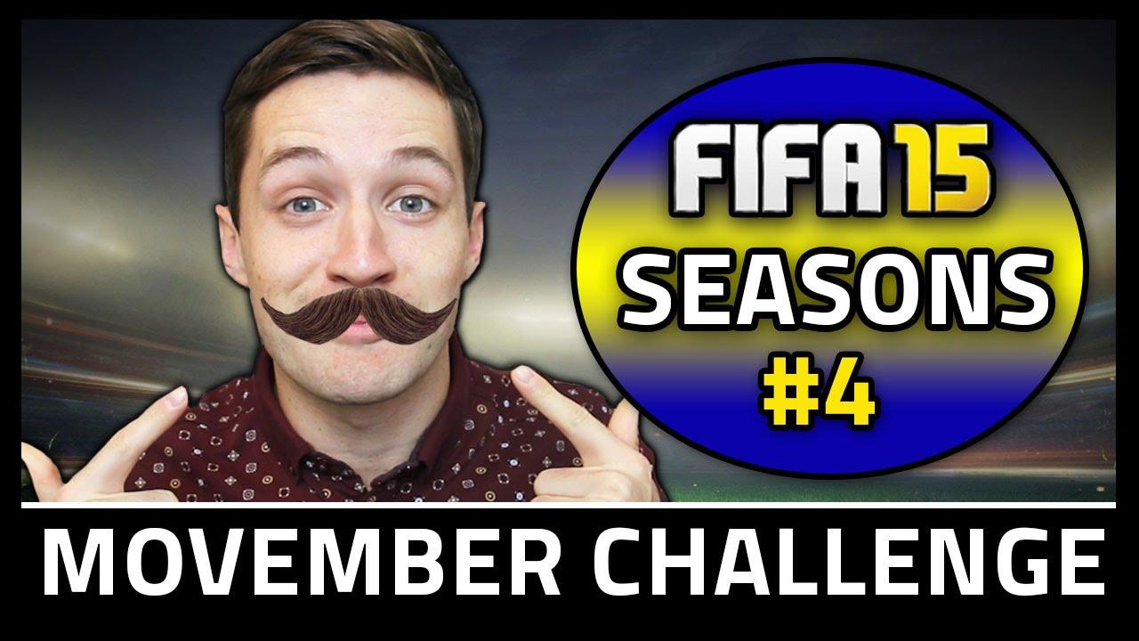 MOVEMBER CHALLENGE! #4 - Fifa 15 Seasons