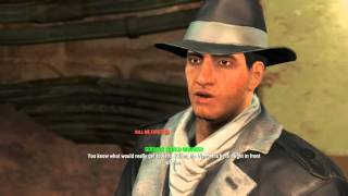 Fallout 4 - How to Save Kent Connolly Kill Sinjin Quest