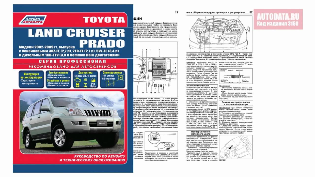 Land Cruiser 200 инструкция по эксплуатации