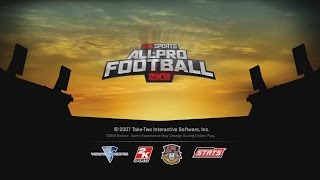 ALL-PRO FOOTBALL 2K8 - RETRO GAME OF THE DAY