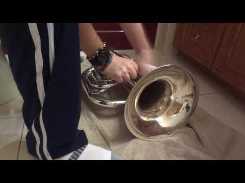 How To Clean A Marching Baritone
