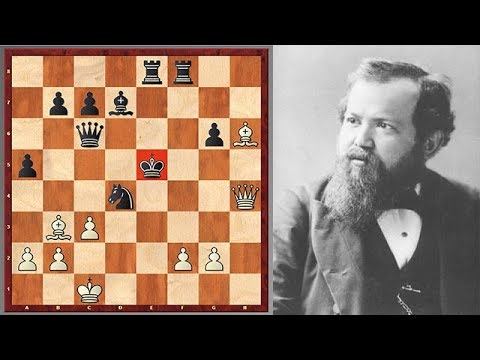 Steinitz Goes For A King Hunt At World Championship Match