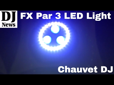 FXpar 3 All In One LED Effect Light For Weddings #ChauvetDJ | Disc Jockey News