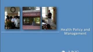FAQ's to UNC Health Policy and Management Residential Master's programs