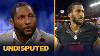 Ravens asked Ray Lewis for advice about Colin Kaepernick - Here is what he told them | UNDISPUTED