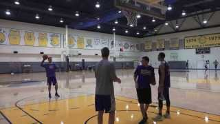 Steve Kerr Finally Beats Stephen Curry at Shooting Contest