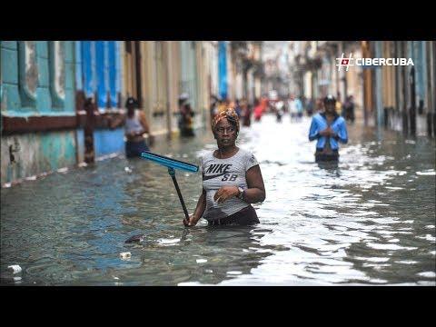 La Habana después del huracán Irma