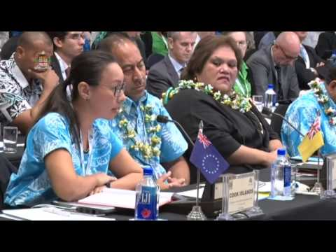 Leaders' response by the Cook Islands Chief of Staff - Office of the PM
