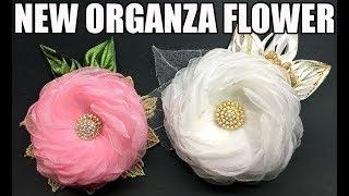 D.I.Y. New Organza Fabric Flower | MyInDulzens