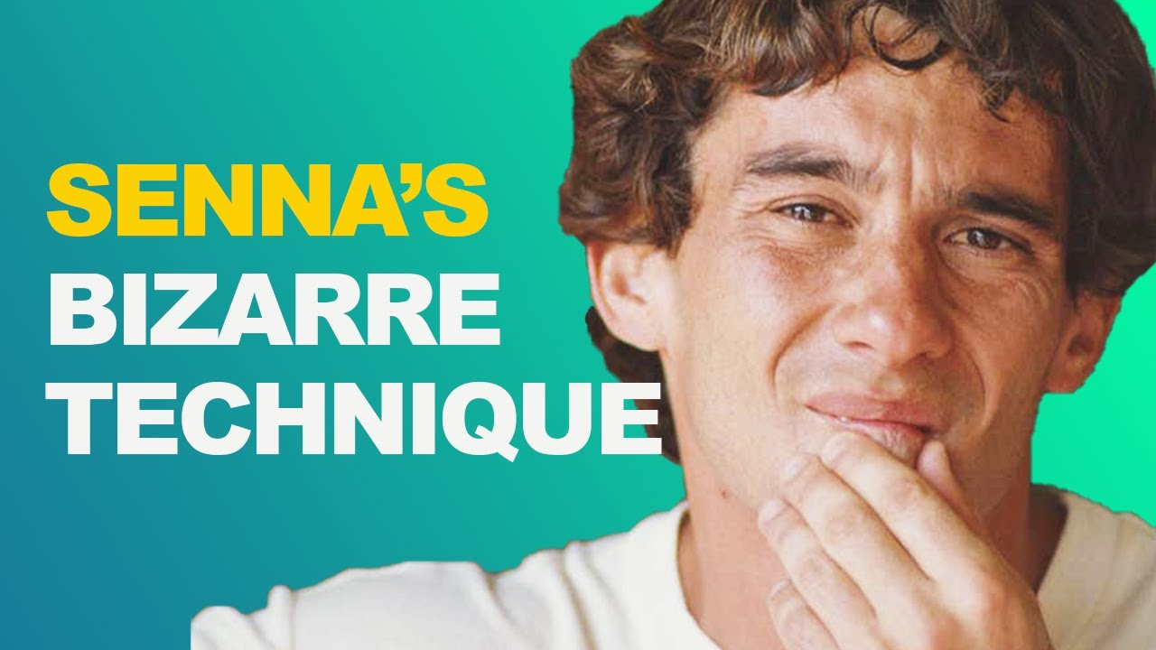 Ayrton Senna's Bizarre Heel-And-Toe Technique
