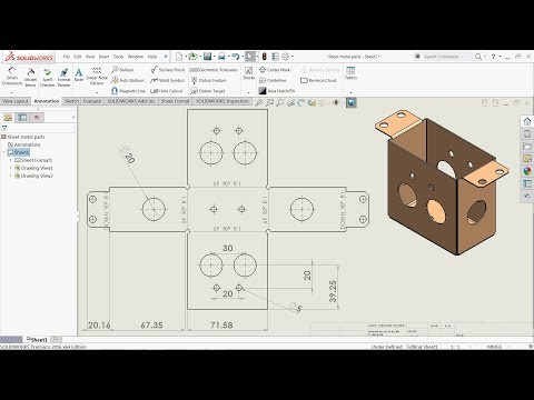 how to make custom engineering title block solidworks
