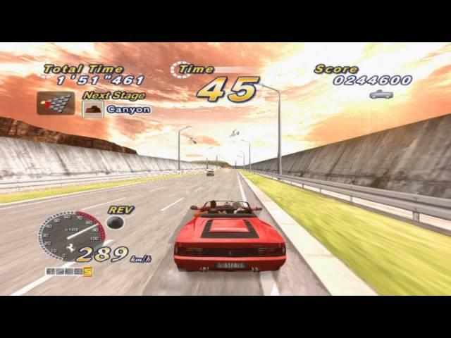 PCSX2 - Outrun2 SP [PS2エミュレータ] - VidInfo