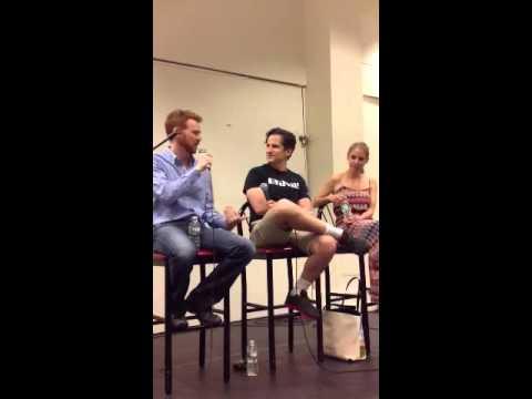 Broadway teachers workshop 2014