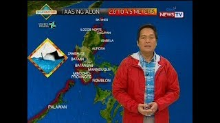 Weather update as of 4:32 p.m. (June 11, 2018)