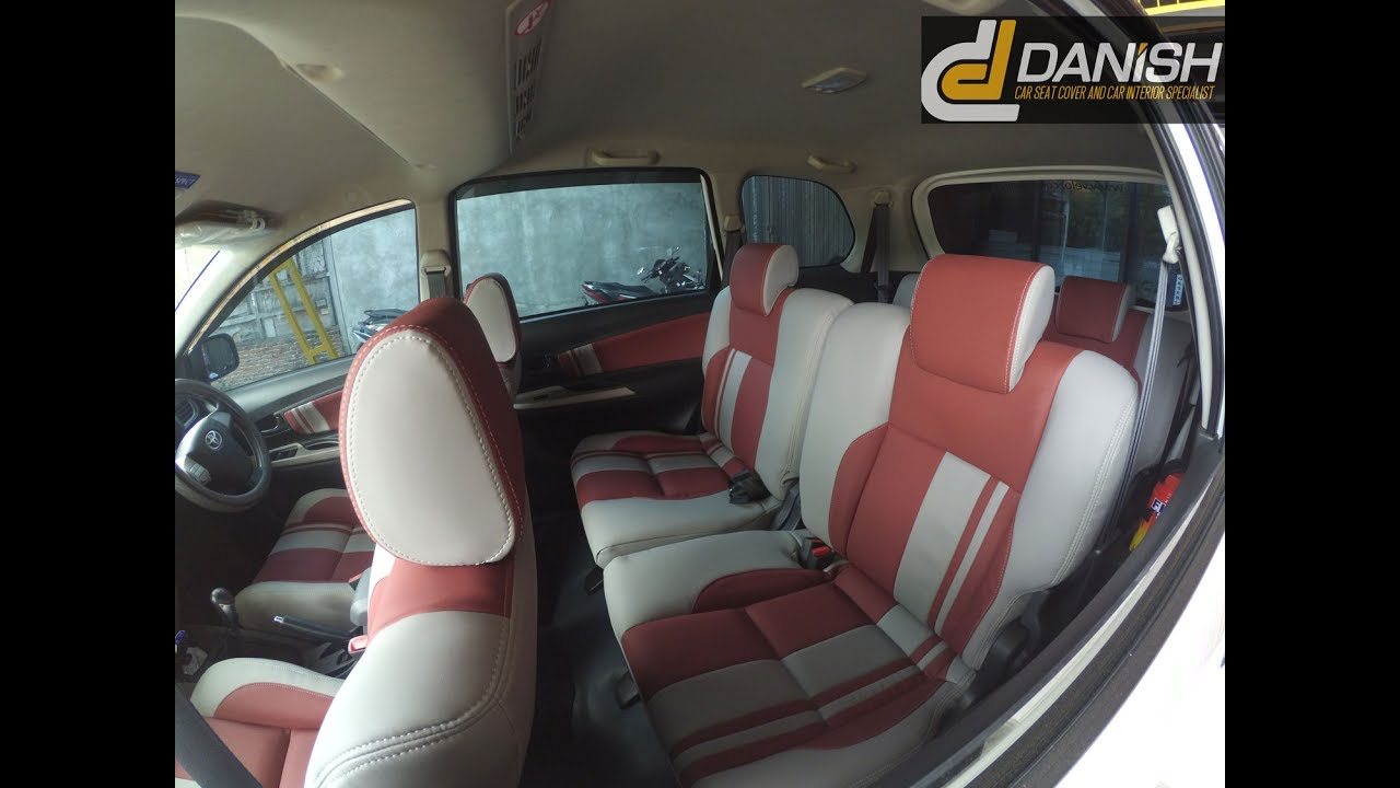 Cover Jok Custom Avanza Veloz Material Azimuth Synthetic Nappa Body Mobil All New Sarung