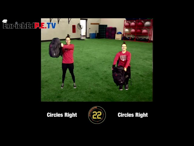 Coach McCoy- A.P.E.: Book Bag Workout (SEATED & STANDING) #1