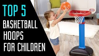 Best Basketball Hoops For Children - Portable Basketball Hoops 2018