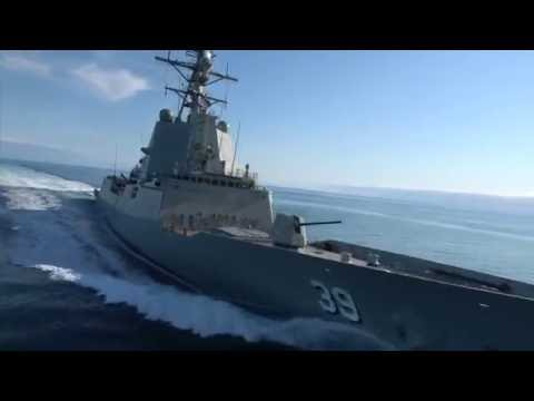 AWD Hobart Successfully Completes Builder's Sea Trials - September 2016