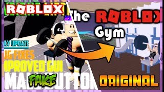 WEIGHT LIFTING SIMULATOR 2 IS FAKE?! (The Original Roblox Gym) | Roblox Gameplay