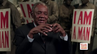 Labor leader Bill Lucy talks #MLK and the 1968 Memphis Sanitation Workers Strike #MLK90 #RMU