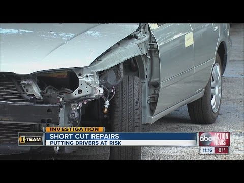 Car crashes lead to dangerous body shop repairs