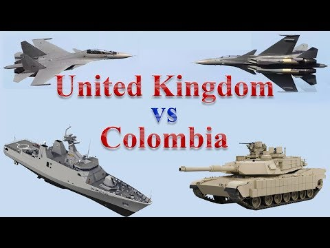 UK vs Colombia Military Comparison 2017