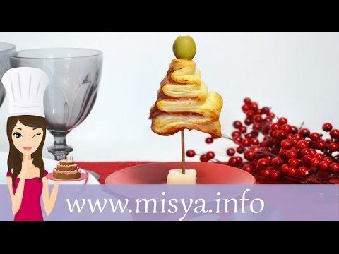 Ricette Dolci Di Natale Misya.Alberelli Di Sfoglia Salati Un Segnaposto Delizioso