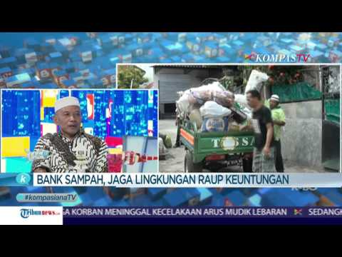 "Ubah Sampah Jadi Berkah Kompasiana Kompas TV ""Eco Business Indonesia"" (@ebi_bag) #LeadAndAct"