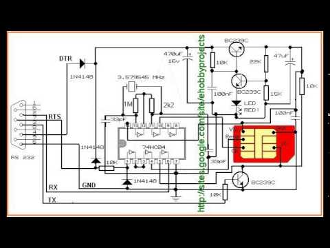 sim card reader circuit diagram msd 6al 2 wiring diy youtube