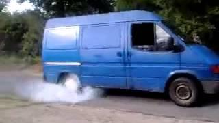 camionette gitan violent burn