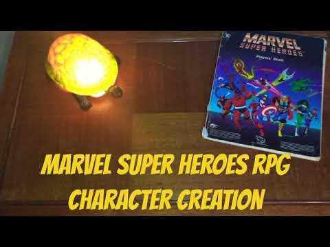 Marvel RPG - Character Creation