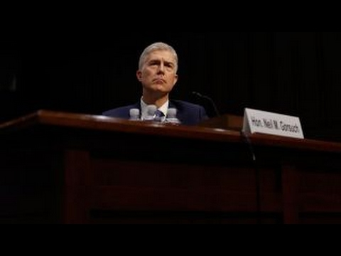 Democrats wasting political capital over Gorsuch confirmation?