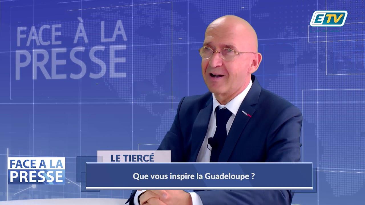FACE A LA PRESSE avec Philippe GUSTIN, Préfet de la Région Guadeloupe - Partie 2