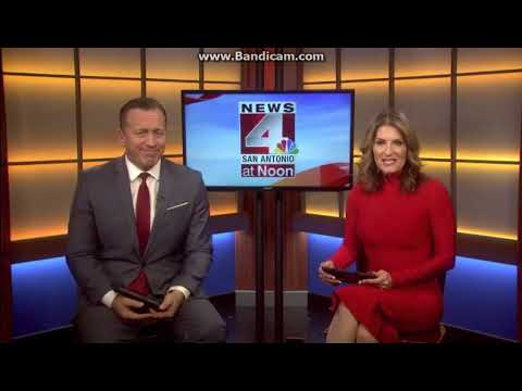 25 Days of News 2017: Day 12: WOAI News 4 San Antonio at Noon open December 12, 2017