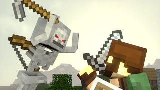 Skeleton Life - Tim's Adventure - Minecraft Animation