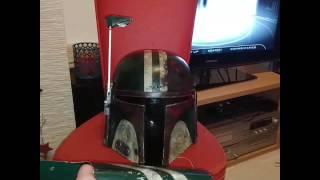Motorized rangefinder gauntlet mandalorianer bountyhunter helmet