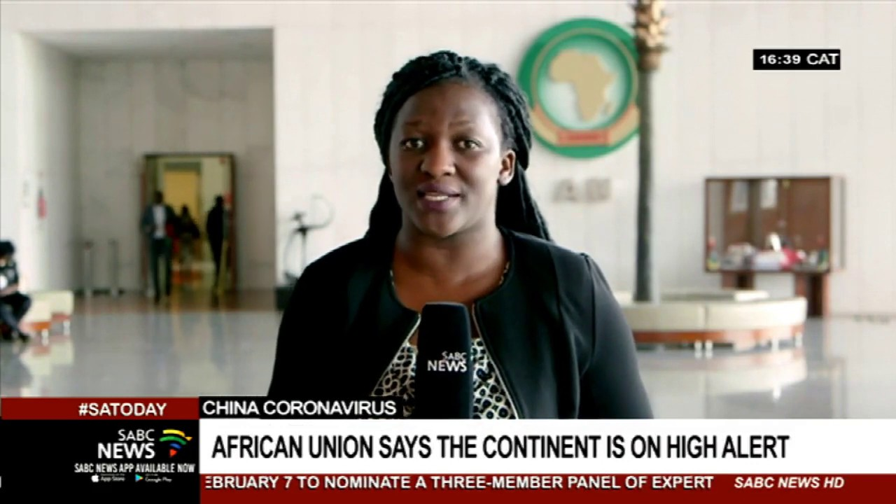 Africa on high alert for cases of the coronavirus: AU - YouTube