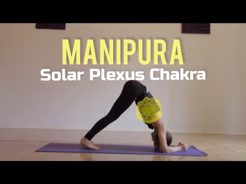 Seven Minute Chakra Series Yoga For Solar Plexus Chakra Manipura With Nessa Youtube